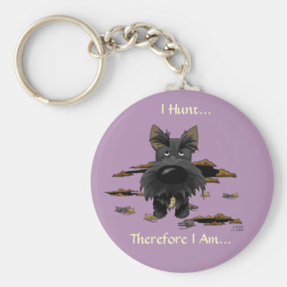 Scottish Terrier (Scotties) I Hunt... Keychain
