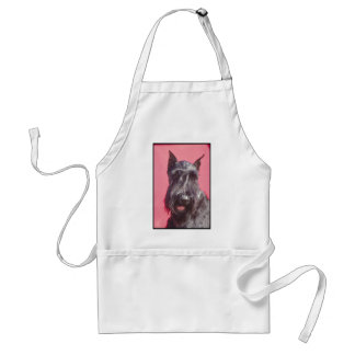 Scottish Terrier Standard Apron