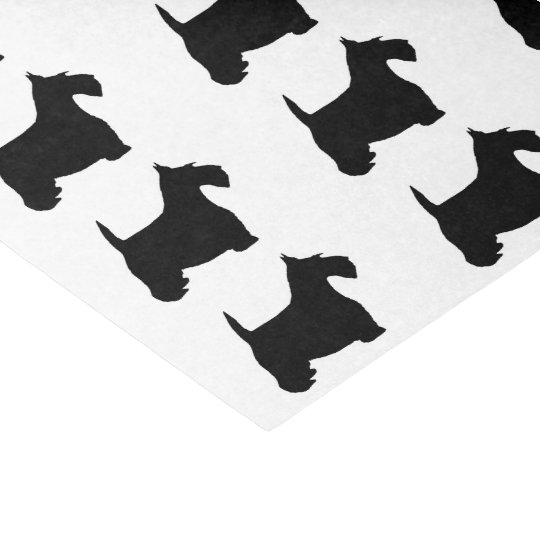Scottish Terrier Tissue Paper