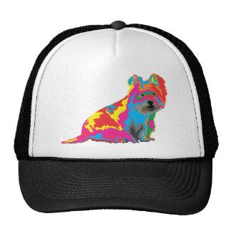 scottish terrier trucker hat