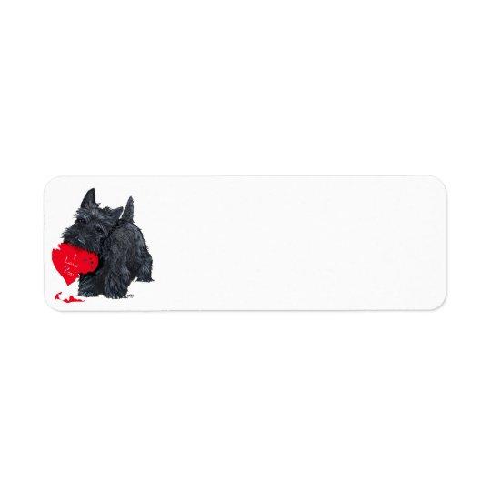 Scottish Terrier Valentine