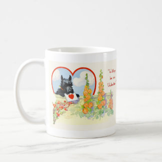 Scottish Terrier Valentine mug