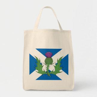 Scottish Thistle and Saltire