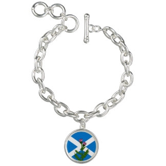 Scottish thistle bracelets