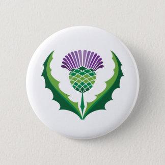 Scottish Thistle Button
