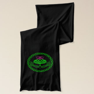 Scottish Thistle Celtic Knot Scarf