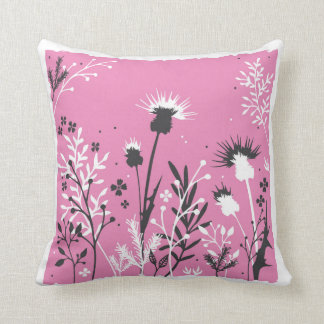 Scottish Thistle Cushion
