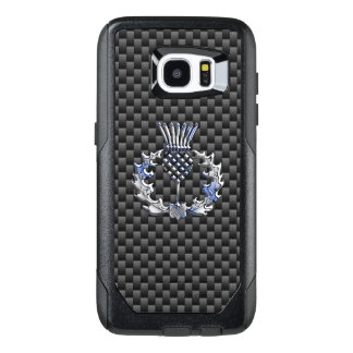 Scottish Thistle Decor on a OtterBox Samsung Galaxy S7 Edge Case