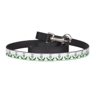 Scottish Thistle Dog Lead