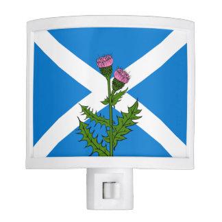 Scottish thistle night light