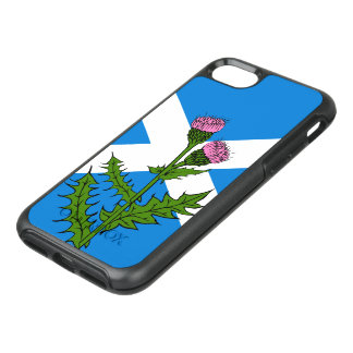 Scottish thistle OtterBox symmetry iPhone 7 case