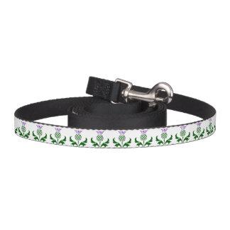 Scottish Thistle Pet Lead