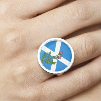 Scottish thistle photo rings