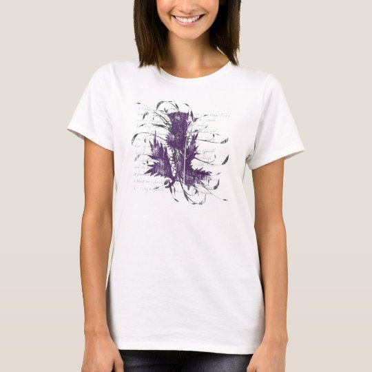 Scottish Thistle Women's Light Shirt