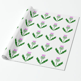 Scottish Thistle Wrapping Paper