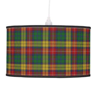 Scottish Touch Clan Buchanan Tartan Hanging Lamps