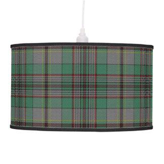 Scottish Touch Clan Craig Tartan Hanging Pendant Lamp