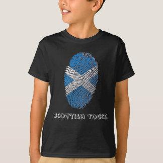 Scottish touch fingerprint flag T-Shirt