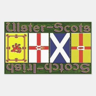 Scottish & Ulster flags Sticker