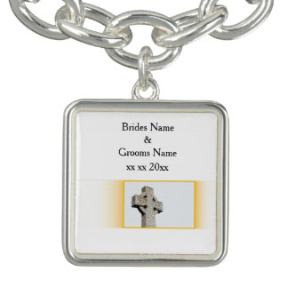 Scottish-Wedding-Celtic-Cross Bracelets