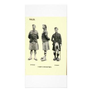 Scottish World War I Uniforms Photo Cards