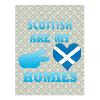 scottishs are my Homies Postcard