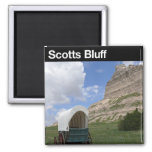 Scotts Bluff National Monument Fridge Magnets