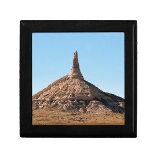 Scottsbluff Nebraska Chimney Rock Spire Gift Box