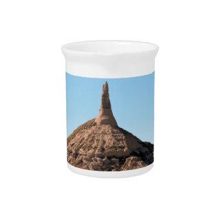 Scottsbluff Nebraska Chimney Rock Spire Pitcher