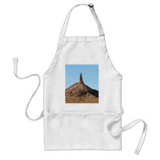 Scottsbluff Nebraska Chimney Rock Spire Standard Apron