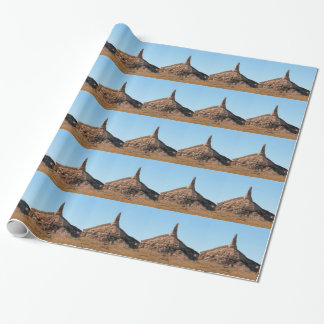 Scottsbluff Nebraska Chimney Rock Spire Wrapping Paper