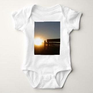 Scottsbluff Nebraska Farming Harvest Fall Sunset Baby Bodysuit