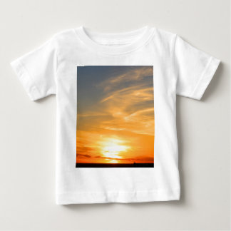 Scottsbluff Nebraska Farming Harvest Fall Sunset Baby T-Shirt