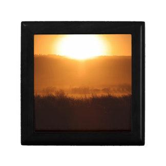 Scottsbluff Nebraska Farming Harvest Fall Sunset Gift Box
