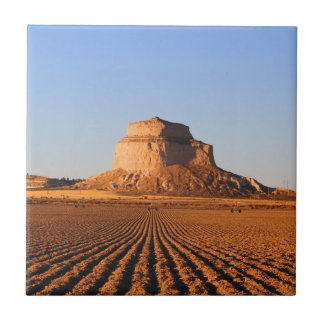 Scottsbluff Nebraska Farming Harvest Fall Sunset Tiles