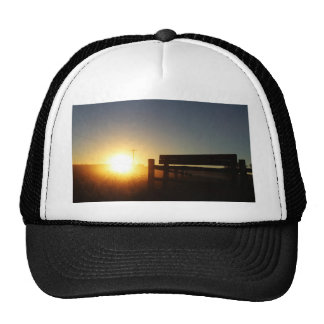 Scottsbluff Nebraska Farming Harvest Fall Sunset Trucker Hat