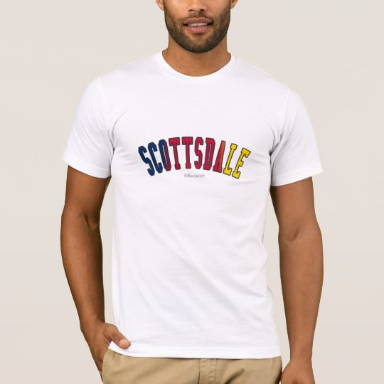 Scottsdale in Arizona state flag colours T-Shirt