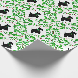 Scotty and Holly Wrapping Paper