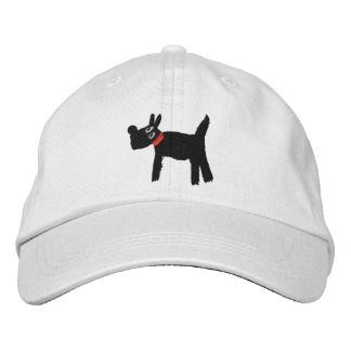 Scotty Dog white cap by artist John Dyer