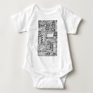 Scouse Words & Phrases Baby Bodysuit