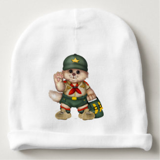 SCOUT CAT Baby Cotton Beanie Baby Beanie