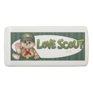SCOUT CAT BOY WEDGE Eraser