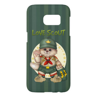 SCOUT CAT Case-Mate Barely There Samsung Galaxy S7