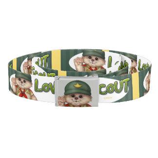 SCOUT CAT  CUTE Cartoon Belt
