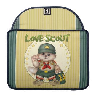 """SCOUT CAT CUTE Macbook Pro 13"""" Sleeve For MacBooks"""