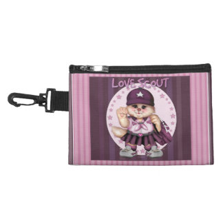 SCOUT CAT GIRL Clip On Accessory Bag