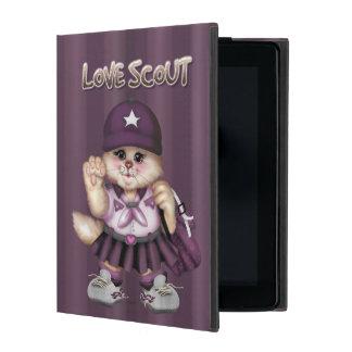 SCOUT CAT GIRL  CUTE iPad Mini iPad Cover