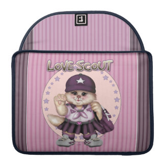 "SCOUT CAT GIRL CUTE Macbook Pro 13"" Sleeve For MacBooks"