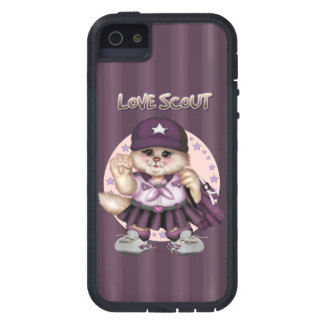 SCOUT CAT GIRL iPhone SE + iPhone 5/5S Tough Xtrem Case For The iPhone 5