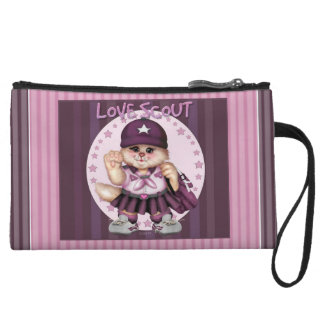 SCOUT CAT GIRL Mini Clutch Wristlets